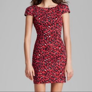 French Connection Winter Simba capped sleeve dress